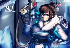 Overwatch - Mei by EmotionCat