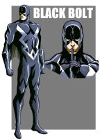 BLACKBOLT ANIMATED by CHUBETO