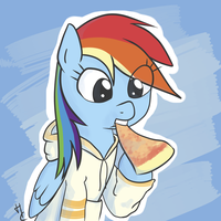 Busy Nomming by HardCyder