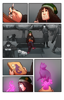 SCAD Challenge Comic: Pg 1 by Magistelle