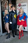 DC Heroes at Free Comic Book Day by NovemberCosplay