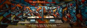 Tribe Wall  -  Dual Screen by Pierre-Lagarde