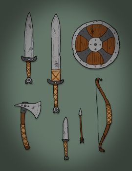 Dwom Weapons - Project Hades OCT by JuanitoBandito