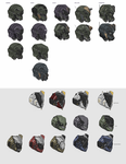 Blitzjaeger helmets by Kwibl