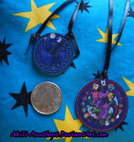 Necklaces: Luna and FiM by Akili-Amethyst