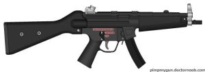 MP5A2 custom color by AsherRazeOfficial