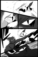 Shadow claw vs Shadow frost finale manga page 7 by ShadowClawZ