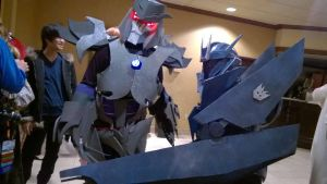 Megatron and Soundwave Cosplay by Xemnass