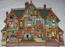 Victorian Dolls House by Tishounette