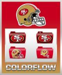 Colorflow San Fransisco 49ers Folders by TMacAG