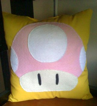 Toadette Pillow by alexiamorana