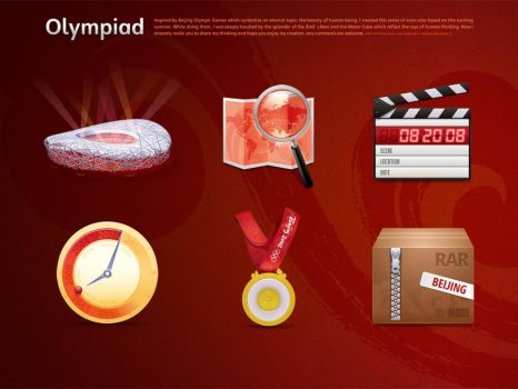 Olympic Games Icon Design 5 by gaolewen