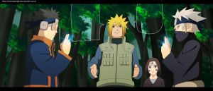 Naruto - Manga Color 636 The Battle Begin by lWorldChiefl