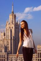 Roof Scenery (1) by milkloveshoney