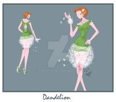 Dandelion Dress by sunshishi