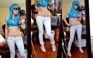 Rave Vinyl Scratch Cosplay WIP by ChibiKitsune1014