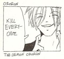 Ororon by StrangeOnePirate