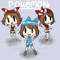 CandyArts' Pokemon chibi by Candy-Arts