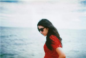 simone at the beach by S-Banh