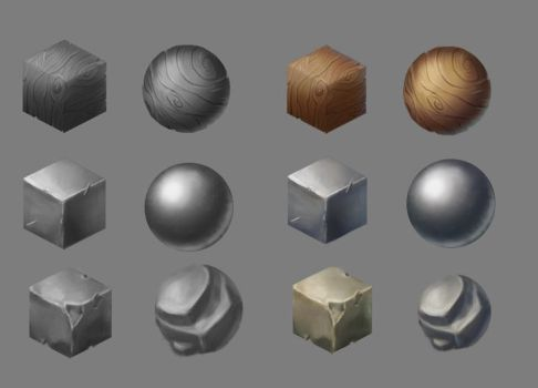 Material studies by LittleLittleMuy