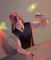Commission barkeeper by Sawitry