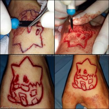 Pokemon scarification by TheChristOff