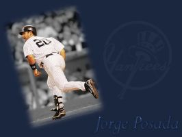 Jorge Posada BG1 by laurag53