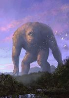 Morning Giant by EthicallyChallenged