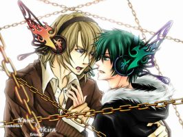 BL -TnC - N and Akira:Magnet by ericajc