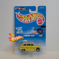 Hot Wheels 1997 London Taxi British Car Service by idhotwheels