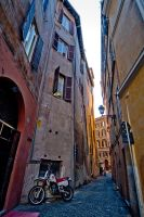 In A New Light: Trastevere by usagicassidy