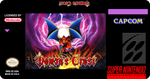 Demon's Crest Label Snes by MasterOniLink