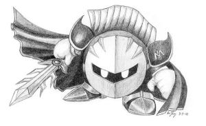 Metaknight by computerduderec