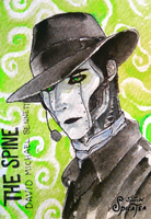 The Spine ACEO v.1 by CalSparrow