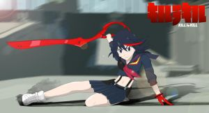 Ryuko Matoi by Snake-n-DA-boX