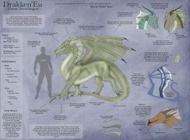 Terra Dragon - Species Sheet by Ulario