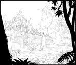 The walls of Negav by Karbo
