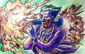 Clown Prince of BOOM!!! by BluBoiArt