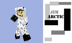 Jim the Arctic man by 12345Death