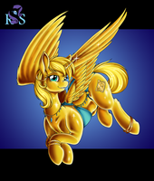 Commission - Golden Ticket by Longinius-II