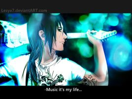 Itachi: It's my life by Lesya7