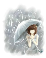 In the Rain by allenerie