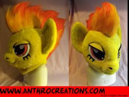 MLP Head Spitfire Cosplay Pony by AtalontheDeer
