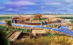 Mesopotamian City by r-w-shilling