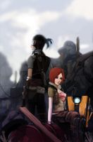 borderlands by bloodink6