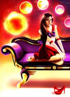 Sailor Mars by MonicaMarinho