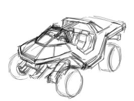 Army Warthog, WIP by Ranfield