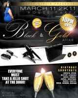CLUB FLYERS March 11 Event by CBrownDESIGNS