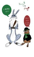 Bunny and Hoggs by Reige17