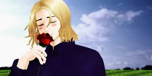 _MMD_ You are my rose.. by xXHIMRXx